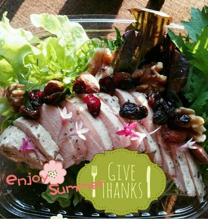 鮮嫩雞胸綜合生菜沙拉-6盒入(免運優惠中)