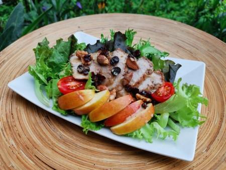 來吉蔬食  D套餐特惠組(黃金松阪豬肉生菜沙拉X6 超優質組合買5送1)