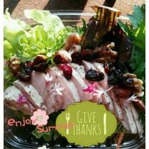 【安全鮮活生菜】鮮嫩雞胸綜合生菜沙拉-6盒入(免運優惠中)
