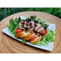 黃金松阪豬肉生菜沙拉6盒裝(免冷藏運費)